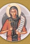 Οσία Ισιδώρα η δια Χριστόν Σαλή