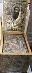 Η λειψανοθήκη του Οσίου Νικηφόρου του Χίου