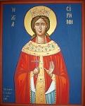 Αγία Ειρήνη η Μεγαλομάρτυς - Αγγελική Τσέλιου© (diaxeirosaggelikistseliou. blogspot.com)