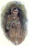 Οσία Σοφία η εν Κλεισούρα ασκήσασα - Προρτραίτο της Γερόντισσας από την Ιερά Βατοπαιδινή Σκήτη Αγίου Ανδρέου και Μεγάλου Αντωνίου, Άγιον Όρος