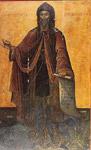 Όσιος Σεραφείμ που ασκήτευσε στο όρος Δομπού Λεβαδείας