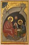 Άγιος Πρόχορος και Άγιος Ιωάννης ο Θεολόγος - Εμμανουήλ Λαμπάρδος, 1602 μ.Χ.