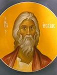 Προφήτης Ησαΐας - Ι. Ν. Οσίων Παρθενίου και Ευμενίου των εν Κουδουμά, δια χειρός Παναγιώτη Μόσχου (2006 μ.Χ.)