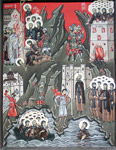 Άγιοι Ιβηρίτες Μοναχοί οι Οσιομάρτυρες