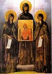 Όσιοι Νικήτας, Ιωάννης και Ιωσήφ οι κτήτορες της Νέας Μονής Χίου