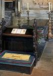 Ο τάφος του Οσίου Βεδέα του Ομολογητή