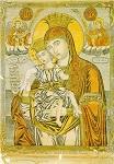 Παναγία το Άξιον Eστίν - 1866 μ.Χ. - Συλλογή Mονής Σιμωνόπετρας, Άγιον Όρος