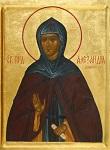 Οσία Αλεξάνδρα Ηγουμένη και θεμελιώτρια της Μονής Ντιβέεβο