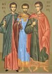 Άγιος Λεόντιος και οι συν αυτώ Υπάτιος και Θεόδουλος