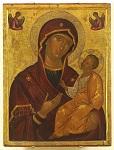 Παναγία Οδηγήτρια - άγνωστος Κρητικός ζωγράφος, αρχές του 16ου αιώνα μ.Χ.