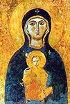 Φορητή εικόνα της Παναγίας της Βλαχερνιώτισσας, που μετέφεραν οι Σταυροφόροι στον Άγιο Μάρκο της Βενετίας το 1204 μ.Χ.