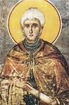 Όσιος Παύλος ο Ξηροποταμινός - Ιερός Ναός Πρωτάτου (1290 μ.Χ.), έργο του Μανουήλ Πανσέληνου