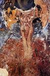 Όσιος Θεοδόσιος ο νέος, ο ιαματικός - Τοιχογραφία παλαιότερης περιόδου