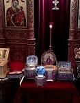 Ιερά Λείψανα της Ιεράς Μονής Παναγίας Δοβρά