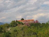 Άποψη της Ιεράς Μονής<br />Παναγίας Βαρνάκοβας