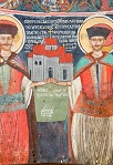 Ιερά Μονή Σέλτσου - Ο καπετάν Νίκος και ο καπετάν Αποστόλης