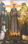 Ο Άγιος Κοσμάς κηρύττων