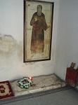 Ο τάφος του Αγίου Κοσμά του Αιτωλού στην Ιερά Μονή Εισοδίων της Θεοτόκου, Κολικόντασι Βορείου Ηπείρου
