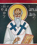 Άγιος Αρκάδιος ο θαυματουργός επίσκοπος Αρσινόης Κύπρου
