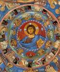 Τοιχογραφία από την εκκλησία της Παναγίας της Αρακιώτισσας στην Κύπρο