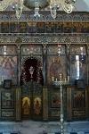 Το τέμπλο του Καθολικού της νέας μονής Καλαμιωτίσσης