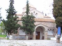 Ο ναός της Παναγίας Σκριπούς στον Ορχομενό
