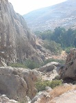 Ο τόπος ασκήσεως του Οσίου Χαρίτωνος