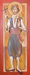 Άγιος Γεώργιος ο Νεομάρτυρας που μαρτύρησε στο Καρατζασού - Γιώργος Χατζής© (hatzis-art.blogspot.com)