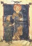 Άγιος Θεόδωρος ο Μεγαλομάρτυρας ο Γαβράς (Από τετραευαγγέλιο του 1067 μ.Χ.)