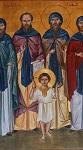 Άγιος Ιάκωβος o Χαματουρίτης και η συνοδεία αυτού