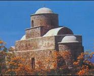 Βυζαντινή εκκλησία στο<br />χώρο αρχαίας<br />Λαπήθου - Λάμπουσας