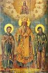Ο Άγιος Νήφων και οι μαθητές του Ιωάσαφ και Μακάριος - 19ος μ.Χ. αιώνας