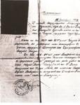 Όσιος Γεώργιος Καρσλίδης ο Ομολογητής Κατά την κουρά του (1919 μ.Χ.) ονομάζεται Συμεών. Στην φωτογραφία το πιστοποιητικό της κουράς και της χειροτονείας του