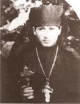 Ο νεοχειροτόνητος ιερομόναχος Γεώργιος Καρσλίδης (1925 μ.Χ.).