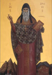 Όσιος Αρσένιος ο Καππαδόκης - Η εικόνα βρίσκεται στον Ι. Ν. του Αγίου Αρσενίου στη Λεμεσό. Αγιογραφήθηκε στο Ησυχαστήριο «Ευαγγελιστής Ιωάννης ο Θεολόγος»