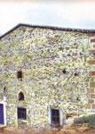 Ο Ι. Ν. Οσιομαρτύρων Βαραχησίου και Ιωνά όπου λειτουργούσε ο Όσιος Αρσένιος ο Καππαδόκης