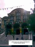 Η μοναδική εκκλησία στην Ελλάδα που είναι αφιερωμένη στον Οσιο Νείλο το Μυροβλήτη. Χατζηκυριάκειο, Πειραιάς.