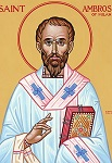 Άγιος Αμβρόσιος επίσκοπος Μεδιολάνων