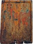 Εικόνα Αγίου Στεφάνου και Αγίου Τυχικού, 14ος αιώνας μ.Χ.