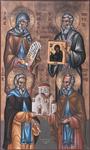 Άγιοι Νεόφυτος, Ιγνάτιος, Προκόπιος και Νείλος, κτίτορες της Ιεράς Μονής Μαχαιρά