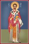 Άγιος Ελευθέριος ο Ιερομάρτυρας - Καζακίδου Μαρία© (byzantineartkazakidou. blogspot.com)