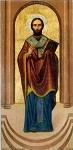 Άγιος Ελευθέριος ο Ιερομάρτυρας - Έργο: Μαλούκη, έτος 1950 - Ιερός Ναός Αγίων Αναργύρων Αττικής