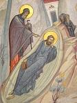 Η εμφάνιση του Αγίου Αντωνίου του Μεγάλου σε όνειρο του Οσίου Νικοδήμου της Τισμάνα